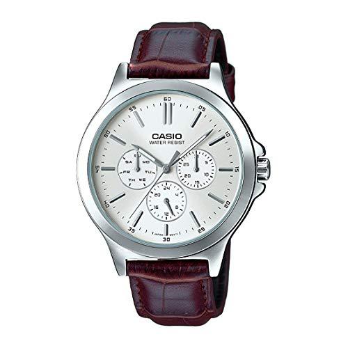 Casio Enticer Men Analog White Dial Men's Watch MTP-V300L-7AUDF(A1177)