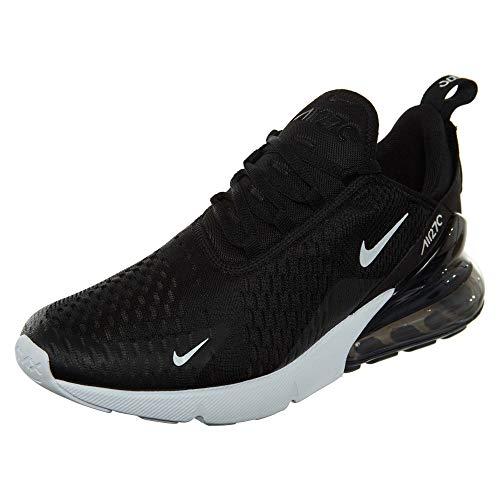 Nike Herren AIR MAX 270 Laufschuhe, Mehrfarbig (Black/Anthracite/White/Solar Red 002), 42 EU
