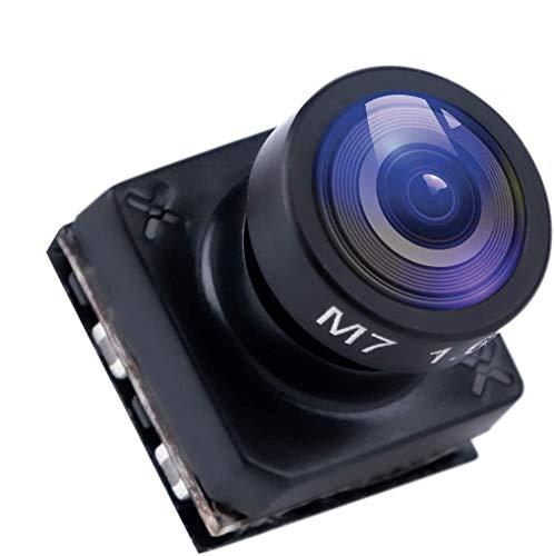 Telecamera FPV Foxeer Pico Razer Cam 1200TVL Obiettivo 1.6mm 160 Grado 4: 3 Schermo PAL con 1/3 Sensore grande DC 3,8V-16V per Quadricottero FPV Racing Drone