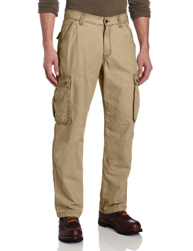 Carhartt Men's Rugged Cargo Pant Relaxed Fit,Dark Khaki,30W x 30L