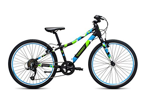 "Guardian Lightweight Kids Bike 24 Inch, Safe Patented SureStop Brake System, Kids Mountain Bike, Bike Sizes for Kids 4'2"" - 5'1"", Boys Bikes and Girls Bikes (AS SEEN ON SHARK TANK)"