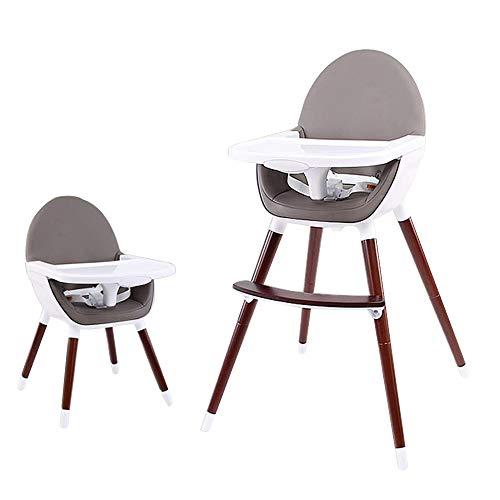 Fly tabouret pliant C-K-P Chaise de Salle à Manger, Chaise de bébé, Solide Bois Portable Petit-déjeuner Bar Table et Chaise Chaise de Salon 2 Couleurs en Option (Couleur : B)