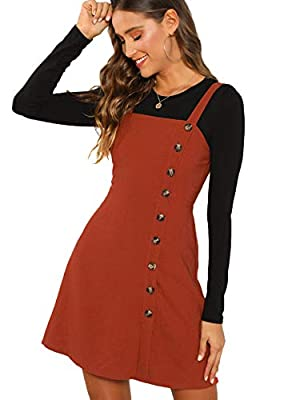 Button front, side zipper, A line Fabric has no stretch. Perfect to wear alone and pair with tops. Ideal for spring, summer and autumn Model Measurements: Height: 68.9inch,Bust: 33.1inch,Waist: 24inch,Hips: 35inch. Wear: S Please refer to the Last Pi...
