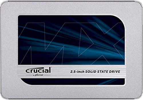 Crucial MX500 500GB CT500MX500SSD1(Z) Unidad interna de estado...