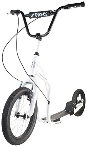 Stiga STR Air 16 Zoll Kickscooter, White, One Size