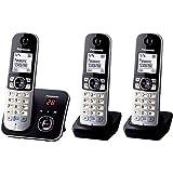 Panasonic KX-TG6823 Téléphones sans Fil Répondeur Ecran [Version...