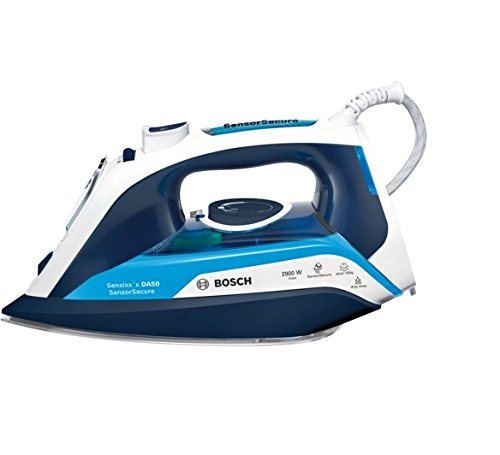 Bosch TDA5029210 Sensixx'x DA50 Stiro a vapore, 2900 W max, Volume vapore 190 g, Notte magica, Blu /...