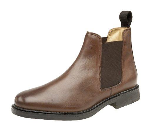 Chaussures montantes Cuir pas cher Homme Marron