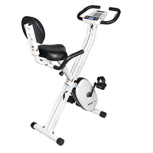 SportPlus SP-HT-1004-iE Bicicleta Estática Plegable con...