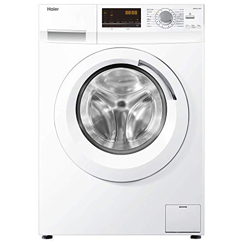 Haier HW100-14636 Waschmaschine FL/A+++/220 kWh/Jahr/1400 UpM/10 kg/Aqua Protect Schlauch