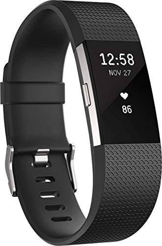 Fitbit Charge 2 Pulsera de Actividad física y Ritmo cardiaco, Unisex,...