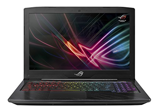 "ASUS ROG Strix Hero Edition Gaming Laptop, 15.6"" FHD 120Hz 3M, 8th-Gen Intel Core i7-8750H Processor, GeForce GTX 1050 Ti 4GB, 16GB DDR4, 128GB PCIe SSD + 1TB FireCuda SSHD, Windows 10 - GL503GE-ES73"