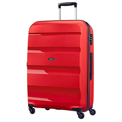 American Tourister Bon Air Spinner Bagaglio a Mano 55 Cm, 31.5 L, Rosso (Magma Red)
