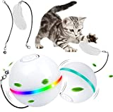 Boomersun Balles interactives pour chat - Chargement USB - Balle...