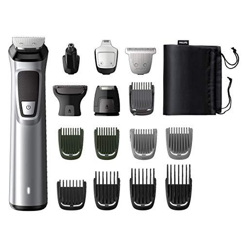 Philips MG7730/15 Serie7000 Grooming Kit, Rifinitore Impermeabile 16in1 per Barba, Capelli e Corpo, Grigio