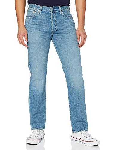Levi's 501 Original Fit Jeans, Ironwood Overt, 36W / 36L Uomo