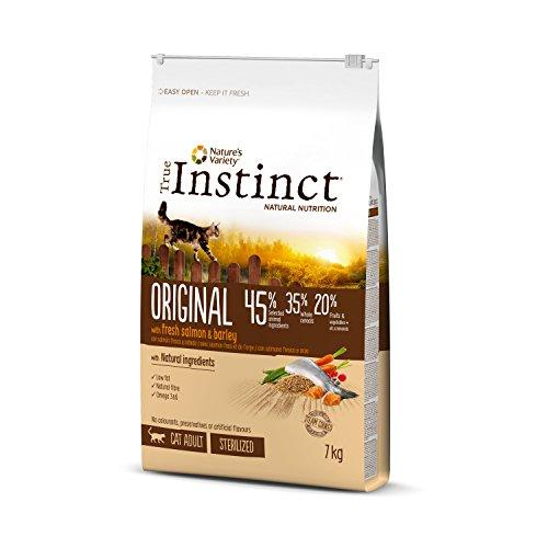 True Instinct Original Adult Sterilized Saumon Nourriture pour Chat 7 kg