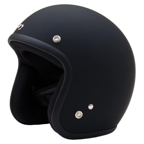 ネオライダース (NEO-RIDERS) ES-3 スモールジェット ヘルメット マットブラック フリーサイズ 57-60cm SG/PSC ES-3