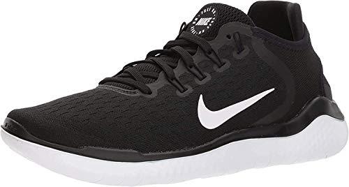 Nike Herren Free RN 2018 Mesh Laufschuhe, Schwarz (Black/White 001), 38 EU (4.5 UK)