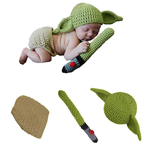 TIMSOPHIA Newborn Infant Baby Photography Prop Crochet Knit Hat...