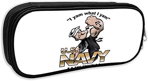 Yam What I Yam Us - Astuccio per matite, con cerniera, per scuola, grande capacit, per ragazzi e ragazze e studenti