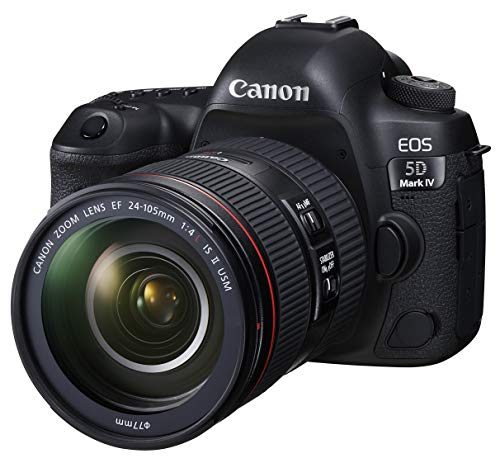 Canon デジタル一眼レフカメラ EOS 5D Mark IV EF24-105L IS II USM レンズキット EOS5DMK4-24105IS2LK-A