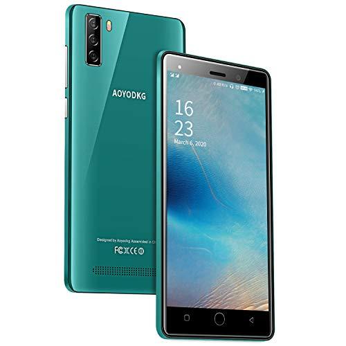 AOYODKG 4G Téléphone Portable Debloqué,Smartphone Android Pas Cher, Écran 5.0 Pouces 1Go RAM+16Go ROM/128Go,Double Caméra 8MP+5MP, Dual SIM Mobile GPS