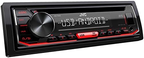 JVC KD-T402 CD-Autoradio mit RDS (Hochleistungstuner, USB, AUX-Eingang,...