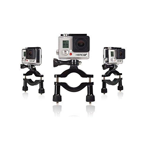 Progearx bar Mount kit per GoPro Camera (confezione da 3)