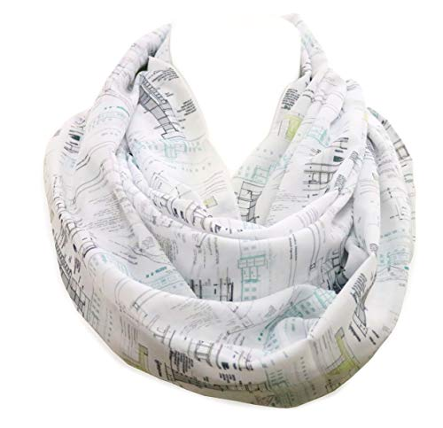 Di Capanni Architecture Infinity Scarf for Architects with...