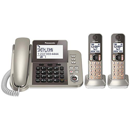 PANASONIC Corded / Cordless Phone System with Answering...