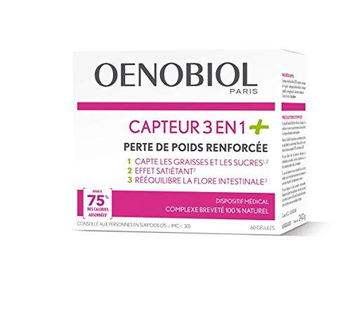 Oenobiol - Perte De Poids Capteur 3 En 1 - 60 Gelules Oenobiol
