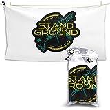 XCNGG Toallas de baño de Secado rápido Toallas de baño para el hogar Toallas Stand Your Ground Quick Dry Towel 28.7'' x 51','Hotel White Bath Towel Beach Towel