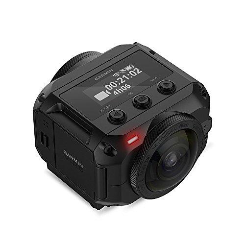 Garmin VIRB 360 - wasserdichte 360-Grad-Kamera mit GPS und bis zu 5,7K/30fps Auflösung oder 4K/30fps mit Auto-Stitching Funktion und sphärischer Bildstabilisierung