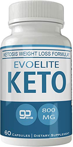Evoelite Keto Pills 800mg Advanced Ketones BHB Ketogenic Supplement for Weight Loss Pills 60 Capsules 800 MG GO BHB Salts to Help Your Body Enter Ketosis More Quickly 1