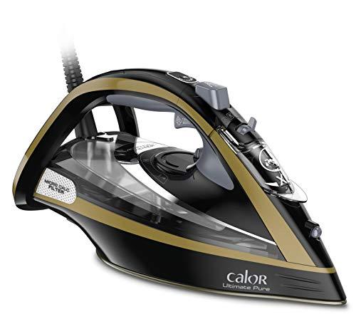 Calor Fer A Repasser Ultimate Pure Effet Pressing jusqu'à 260g / min Noir FV9839C0