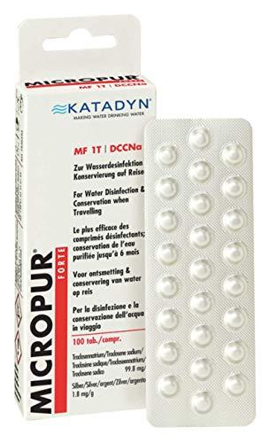 Micropur Forte MF 1T 4x25 Tabletten Wasserentkeimung Trinkwasser