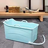 Portable Foldable Bathtub For Adults and Children, Folding Bathtub Soaking Tub Home SPA Bathtub,Non-Slip PP Household Collapsible Bathtub For Easy Storage,Ideal for Indoor and Outdoor Travel