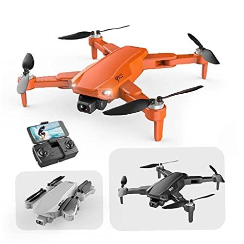 Mini GPS drone S608 quadcopter pieghevole con FPV ad alta definizione grandangolare modalit di mantenimento altezza della telecamera arancione