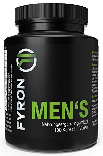 FYRON MENs + Vegan + 100 Kapseln + Top Produkt seit 2014