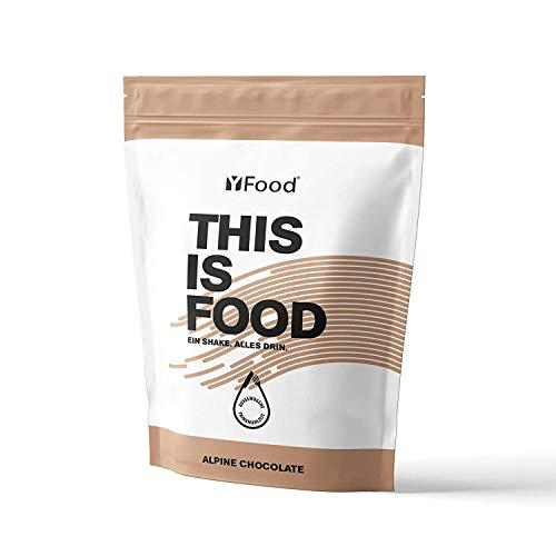 YFood Pulver   Laktose- und glutenfreier Nahrungsersatz   17 Mahlzeiten, 26 Vitamine & Mineralstoffe   Proteinpulver zum Selbermischen  Leckerer Eiweiß-Shake   1,5kg Beutel (Schokolade)
