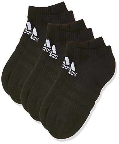adidas Cush Low 3pp, Socks Uomo, Black/Black/Black, M