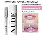 Lip Plumper - Get Instantly Sexy Lips without lip Filler Injection - Organic Lip Plumping Lipgloss for Fuller & Hydrated Lips, Natural Lip Enhancer LIP GLOSS