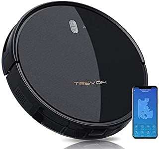 Tesvor Robot Vacuum Cleaner – 4000Pa Strong Suction Robot Vacuum, Alexa Voice and..