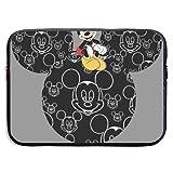 Funda de tela impermeable para portátil MacBook Pro Air de 13 a 15 pulgadas, diseño de Mickey Mouse