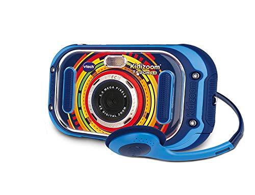 VTech 80-163504 Kidizoom Touch 5.0 - Fotocamera Digitale per Bambini, Multicolore