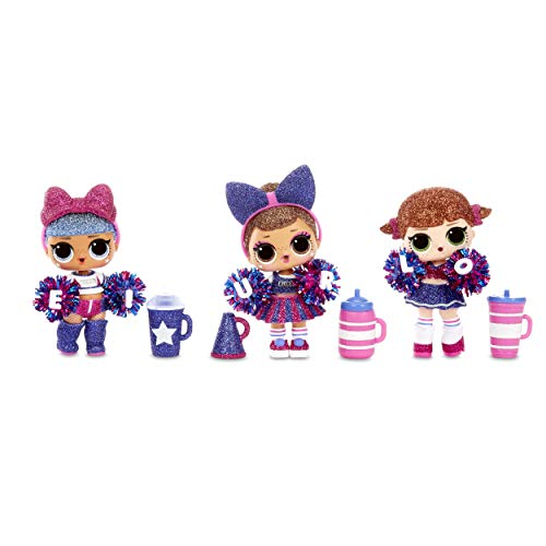 Image 3 - LOL Surprise All-Star BBs - Équipe de pom-pom girls - Poupée étincelante sportive avec 8 Surprises et accessoires - All-Star BBs Série 2 - Poupées à collectionner pour les filles de 3 ans et +