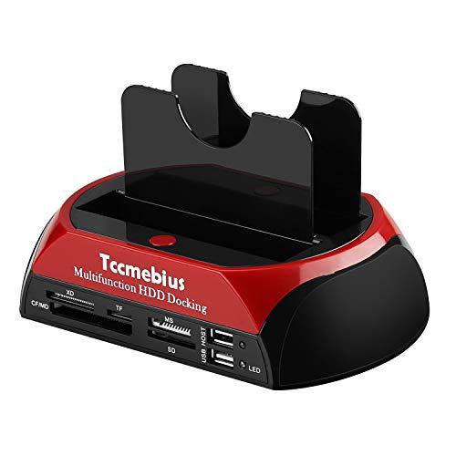 Tccmebius TCC-S862-DE USB 2.0 a SATA IDE Dual-Bay...