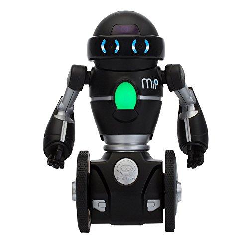 Wowwee Mip Robot Domestico Multimediale, Nero/Argento