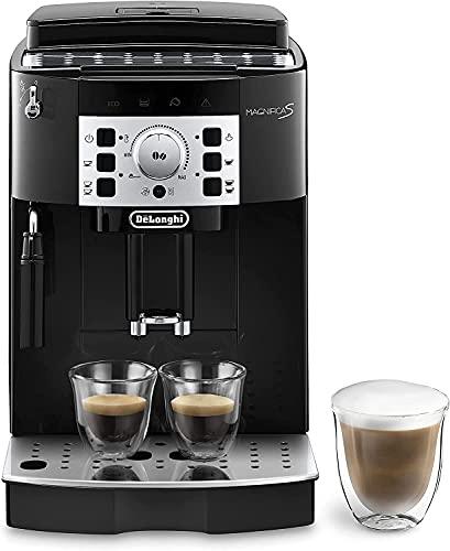 De'Longhi Perfetto Magnifica S ECAM22.110.B Macchina da Caffè Automatica per Espresso e Cappuccino, Caffè in Grani o in Polvere, 1450 W, Nero